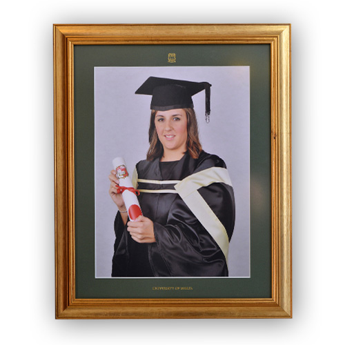 Wooden frame for photo size 16 x 12 inches (40 x 30 cm) - MUHC